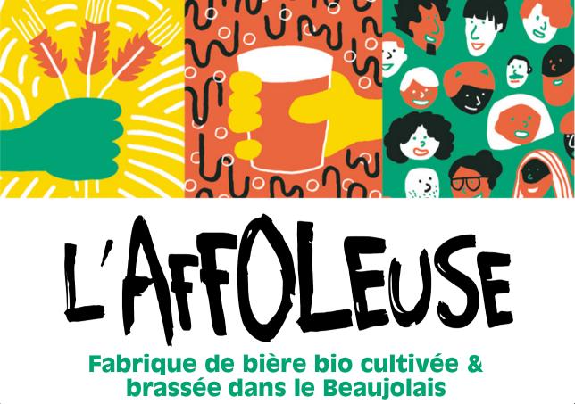 L'affoleuse biere paysanne et bio du Beaujolais